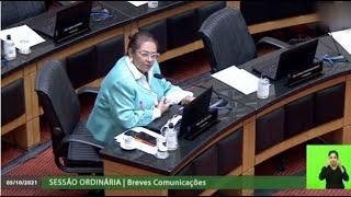 Deputada enaltece os 33 anos da Constituição