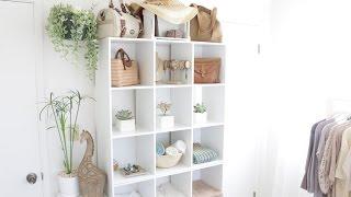 Organizing Cube Shelves