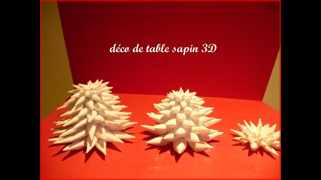 #4F0006 Tuto Déco De Table Sapin 3D   5849 tuto decoration de table noel 3456x2592 px @ aertt.com