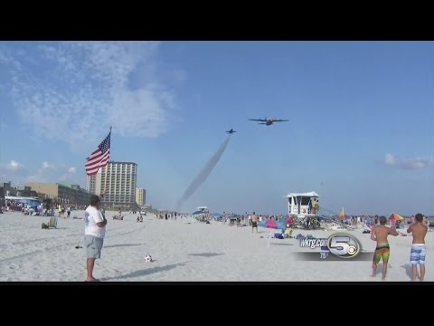 Thousands Honor Fallen Blue Angel As Remains Come Home
