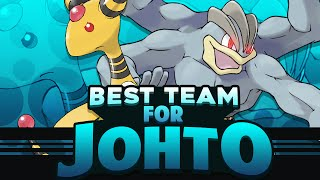 Best Pokemon Team For Johto Feat. Eryizo  (Gold and Silver)