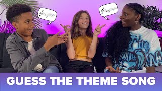 GUESS THE THEME SONG! ft. Kheris & Liam-Alexander | Hayley LeBlanc
