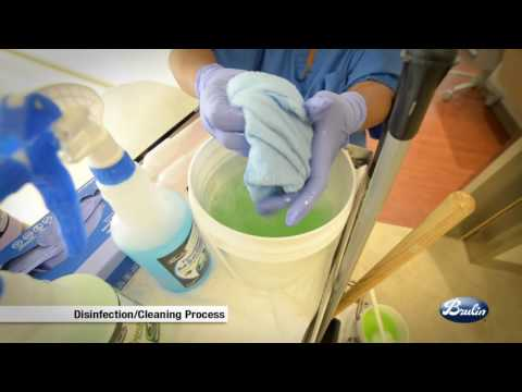 Brulin's Discharge Patient Room Cleaning