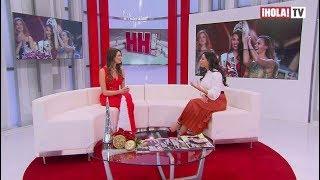 Verónica Schneider, contenta con el resultado del Miss Universo 2018   ¡HOLA! TV