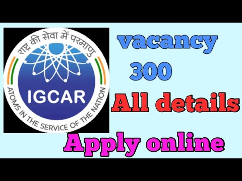 IGCAR (Department of Atomic energy ) all details