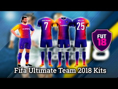 cae0e7479 How to Import Fifa Ultimate Team 2018 (FUT 18) Kits   Logos in Dream League  Soccer 2018