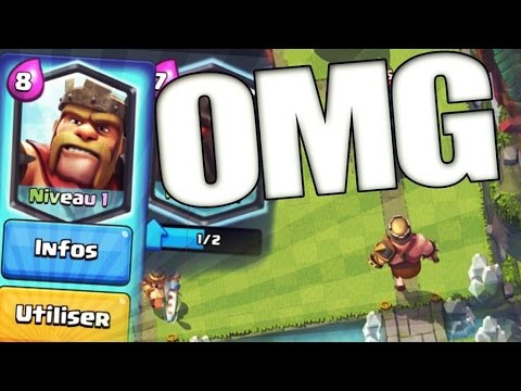Exclu video le roi des barbares sur clash royale barbarian king clash r - Le grill des barbares ...