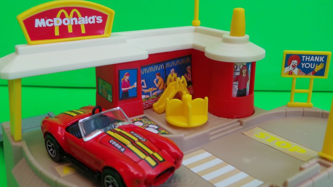 1996 Mattel Hot Wheels Die Cast Cobra At Mcdonalds Drive