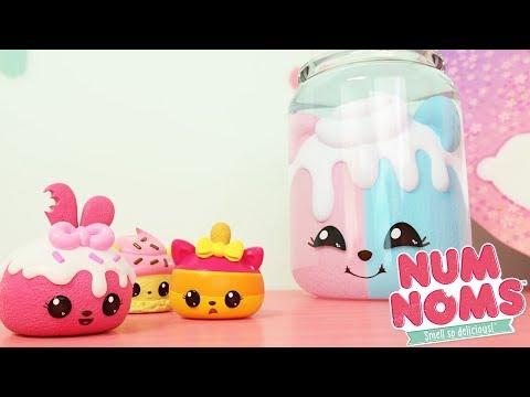 Num Noms - Treats in a Jar | Num Noms Snackables Compilation | Cartoons for Children