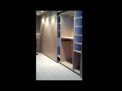 Ideas decoracion con tecnologia led en muebles armario - Armario 3 puertas correderas ...