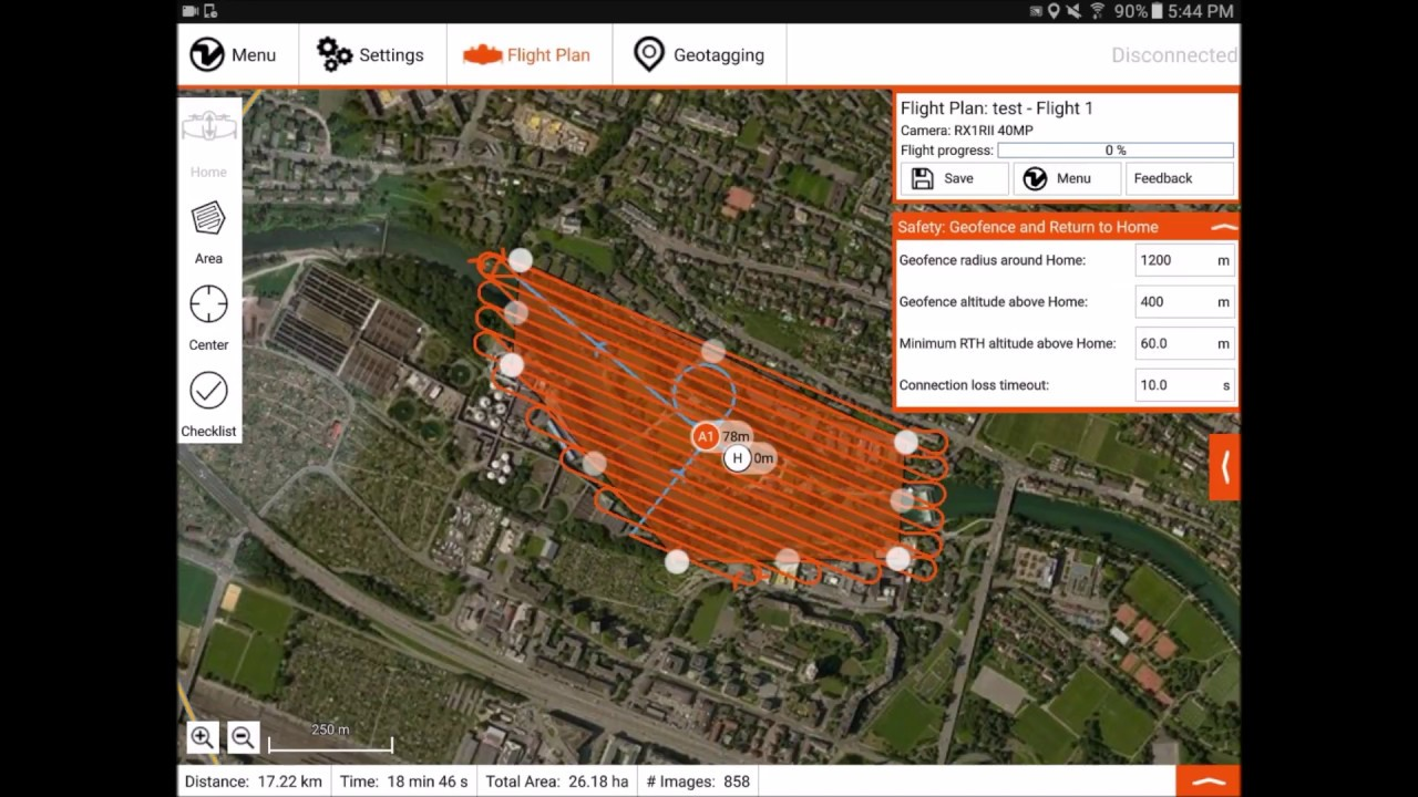 Drone flight planning with WingtraPilot (tutorial) | VTOL mapping drone  WingtraOne