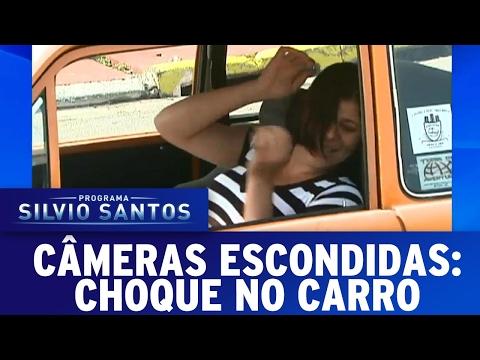 Choque no Carro | Câmeras Escondidas (12/02/17)