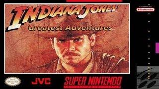 Indiana Jones Greatest Adventures Walkthrough Complete Game (SNES)