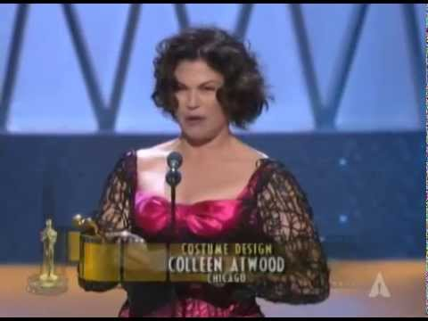 Chicago Wins Costume Design: 2003 Oscars