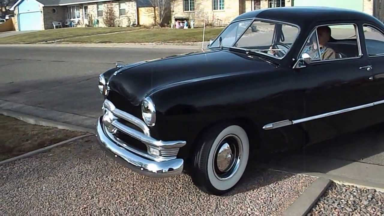 1950 ford custom club coupe youtube. Black Bedroom Furniture Sets. Home Design Ideas