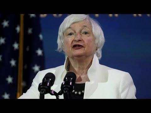 Yellen wins unanimous Senate panel vote for Treasury