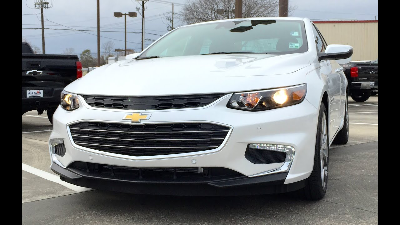 2016 Chevrolet Malibu 2lz Premier Full Review Start Up Exhaust Short Drive You