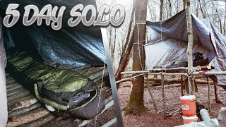 5 Day SOLO Survival Challenge