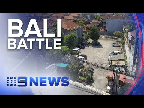 Campaign to stop construction at Bali bombing site | Nine News Australia