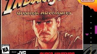Экспромт Indiana jones greatest adventures на SNES