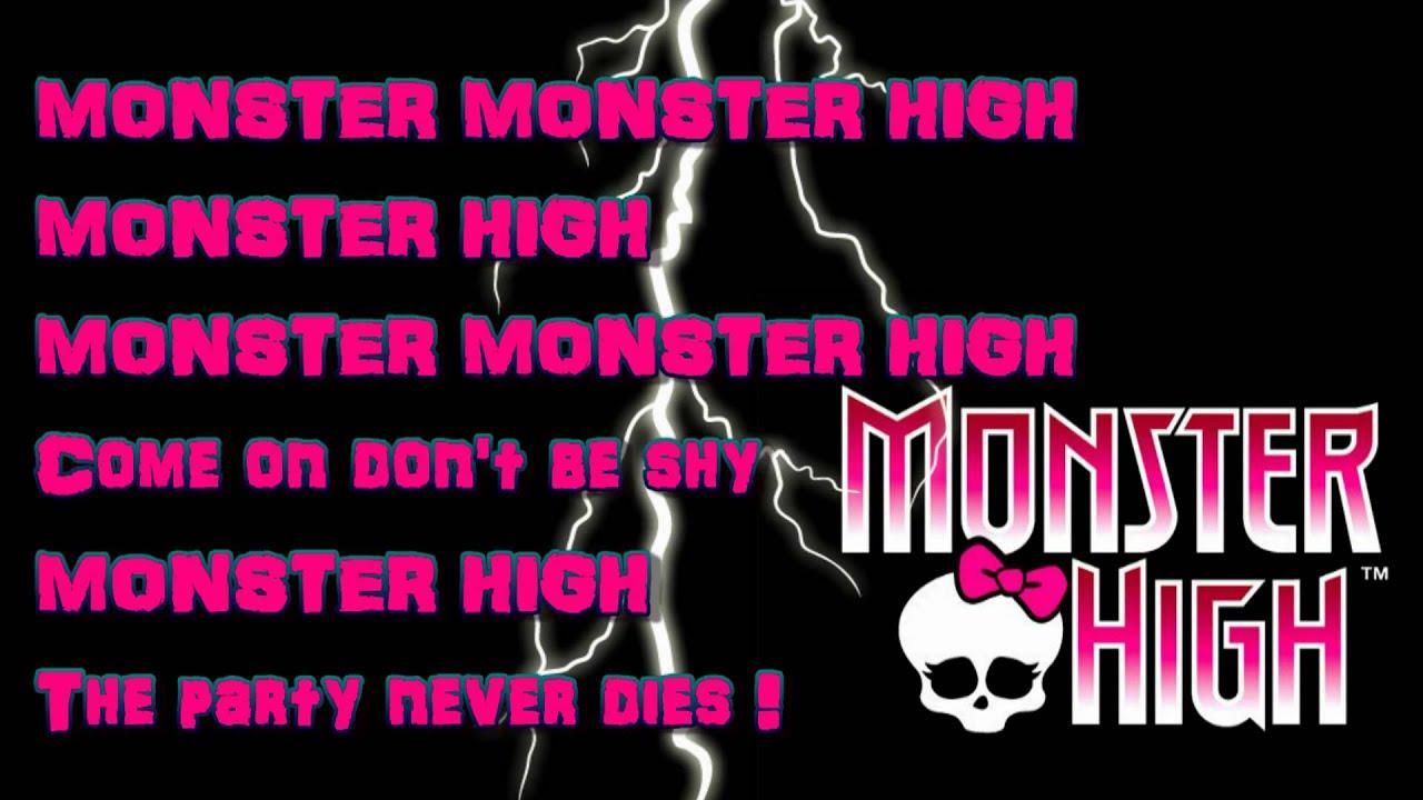 Download Monster High-Fright Song-lyrics