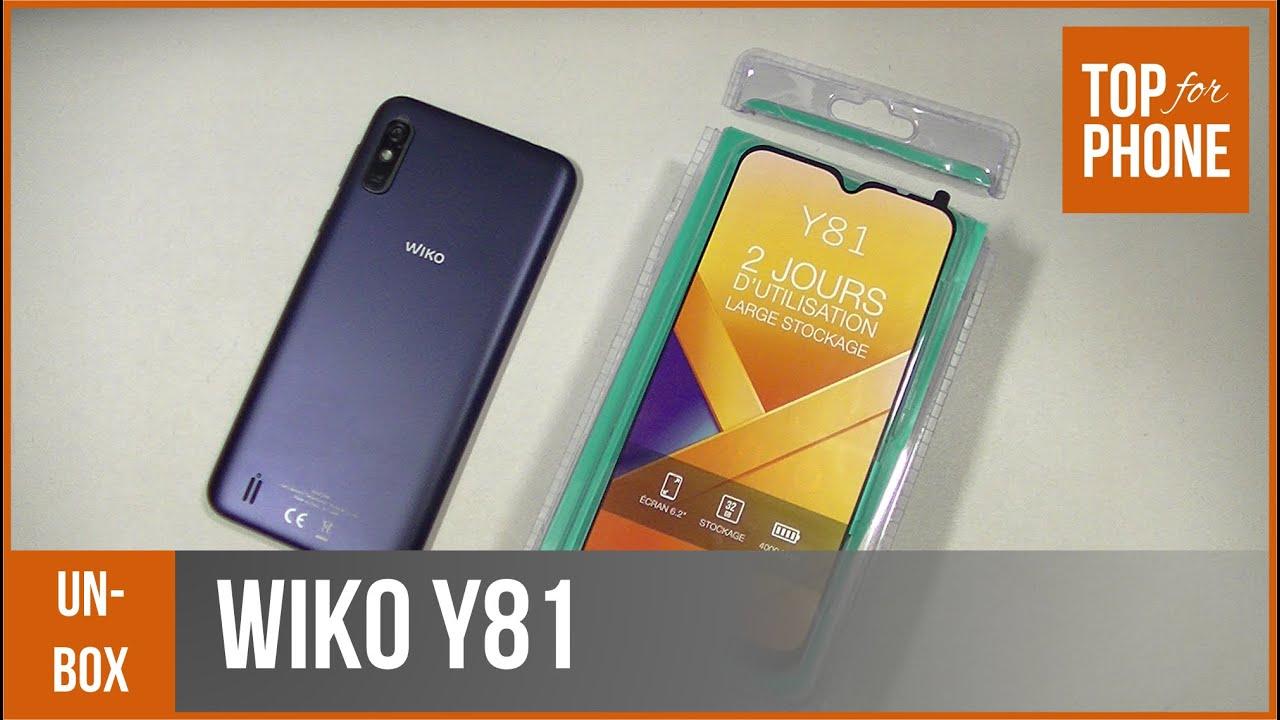 WIKO Y81 - déballage par TopForPhone