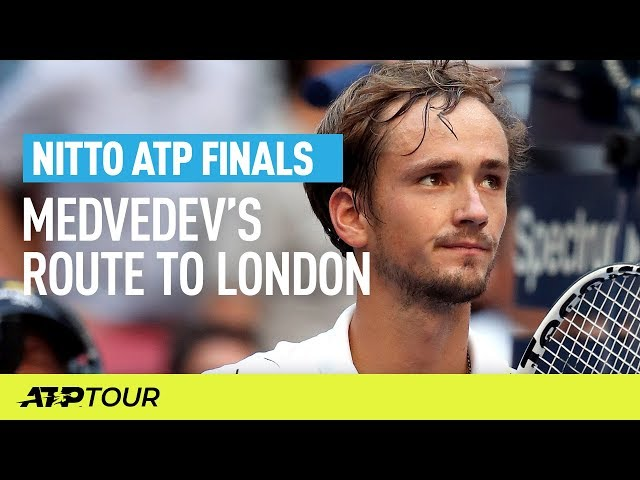 Medvedev's Route To London | Nitto ATP Finals | ATP