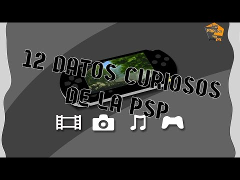 12 Datos Curiosos de playstation portable (PSP)