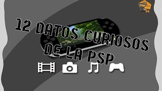 12 Datos Curiosos de playstation portable (PSP)