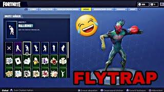 (NEW) FLYTRAP SKIN! WITH 20+ DANCE EMOTES! / Fortnite Battle Royale