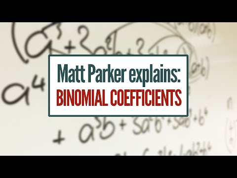 Matt Explains: Binomial Coefficients [featuring: choose function, pascal's triangle]