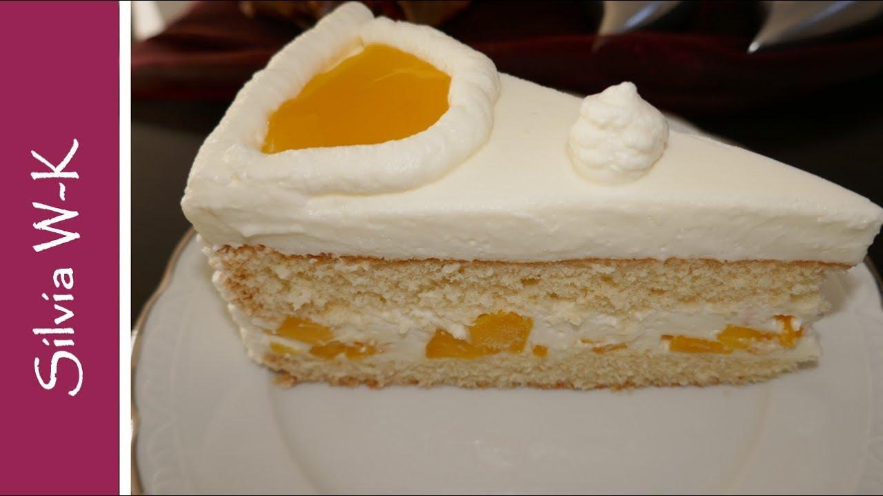 Joghurt Mango Torte Youtube
