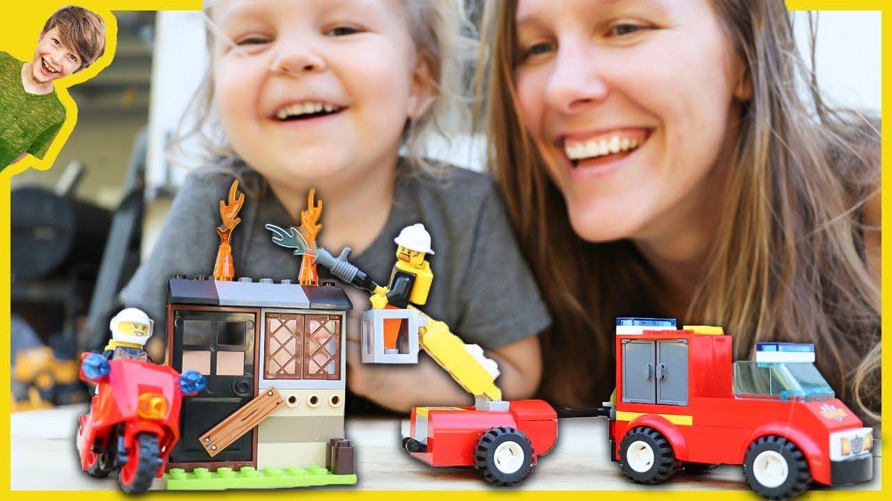 Lego City Fire Trucks The Axel Show Youtube