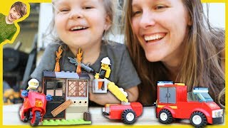LEGO CITY FIRE TRUCKS FOR CHILDREN - The Axel Show