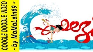 哪吒鬧海 35th Anniversary of Nezha Conquers the Dragon King Google Doodle
