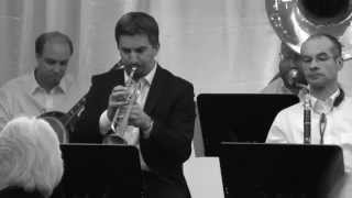 """ACE OF RHYTHM"": CUMMINGS - BONNEL QUINTET for JABBO SMITH at WHITLEY BAY 2013"