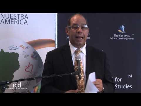 Fernando Ureña Rib, Cultural Attaché of the Embassy of the Dominican Republic