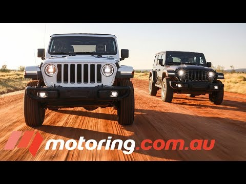 Jeep Tests JL Wrangler In Outback Australia | Motoring.com.au