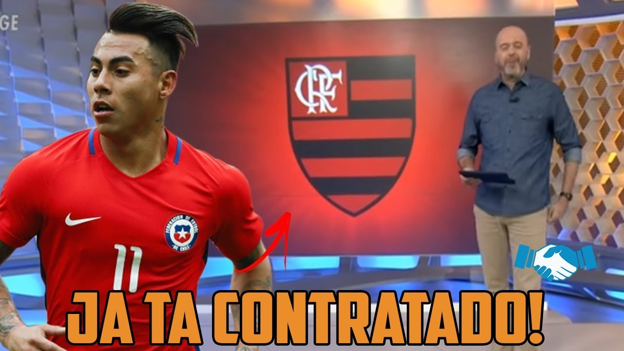 84ea9990d1269 VARGAS SERA O NOVO REFORÇO DO FLAMENGO! - MERCADO DA BOLA - YouTube