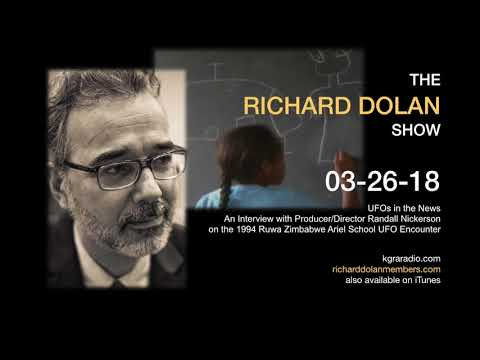 Richard Dolan Show March 26, 2018 1994 Zimbabwe UFO