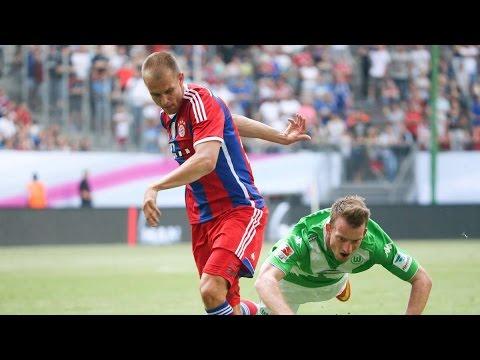 Fc bayern m�nchen 2 1 vfl wolfsburg  22 august 2014 fussball prognosen via fifa 14