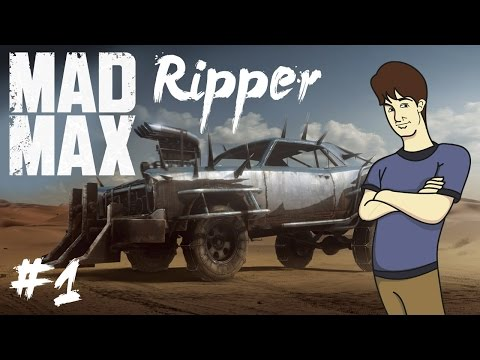 LETS BUILD THE RIPPER | MAD MAX | WEBBER101