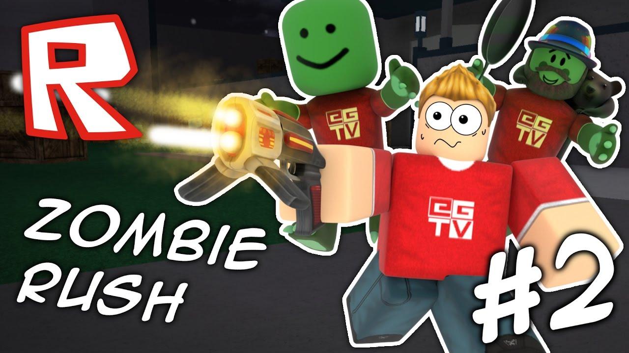 Zombie Rush #2 | ROBLOX - YouTube