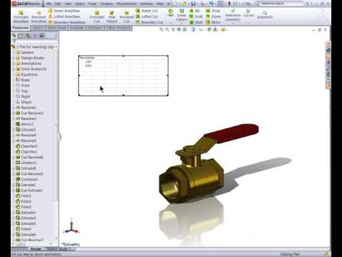 Video Archive: Communication Using SOLIDWORKS
