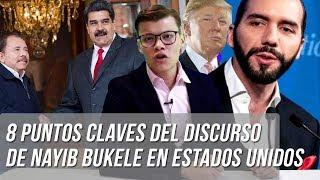 Nayib Bukele condenó dictaduras de Nicolás Maduro y Daniel Ortega - SOY JOSE YOUTUBER