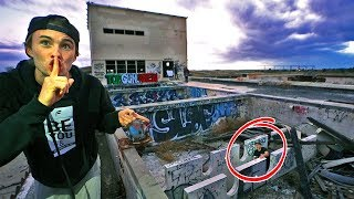 Hide N Seek in ABANDONED Water Treatment Plant! (If found, draw on face)