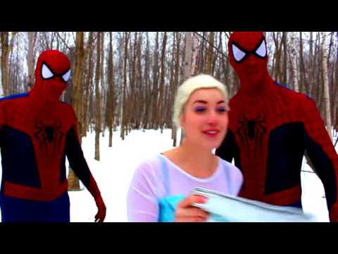 Spiderman fights crime and lays pipe hos - 1 part 2