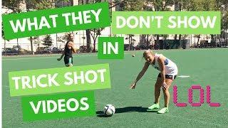 SOCEER GIRL PROBS VIDS   Behind Every Trick Shot Video