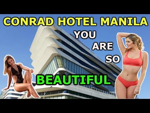 WOW! Conrad Hotel Manila & Mall, Walking Tour 2019! VLOG TOUR, Manila, Philippines! Enjoy Watching!