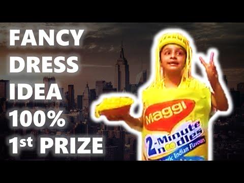 2018   Fancy Dress Winner   Best Idea   YouTube